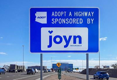 Arizona Adopt A Highway Sponsor Joyn Insurance